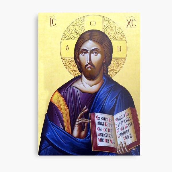 Jesus Icon Metal Print