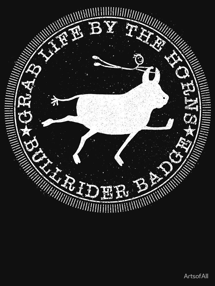 Bull Rider Badge by ArtsofAll