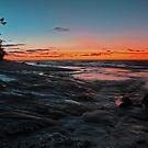 Twelvemile Point - Lake Superior by Megan Noble