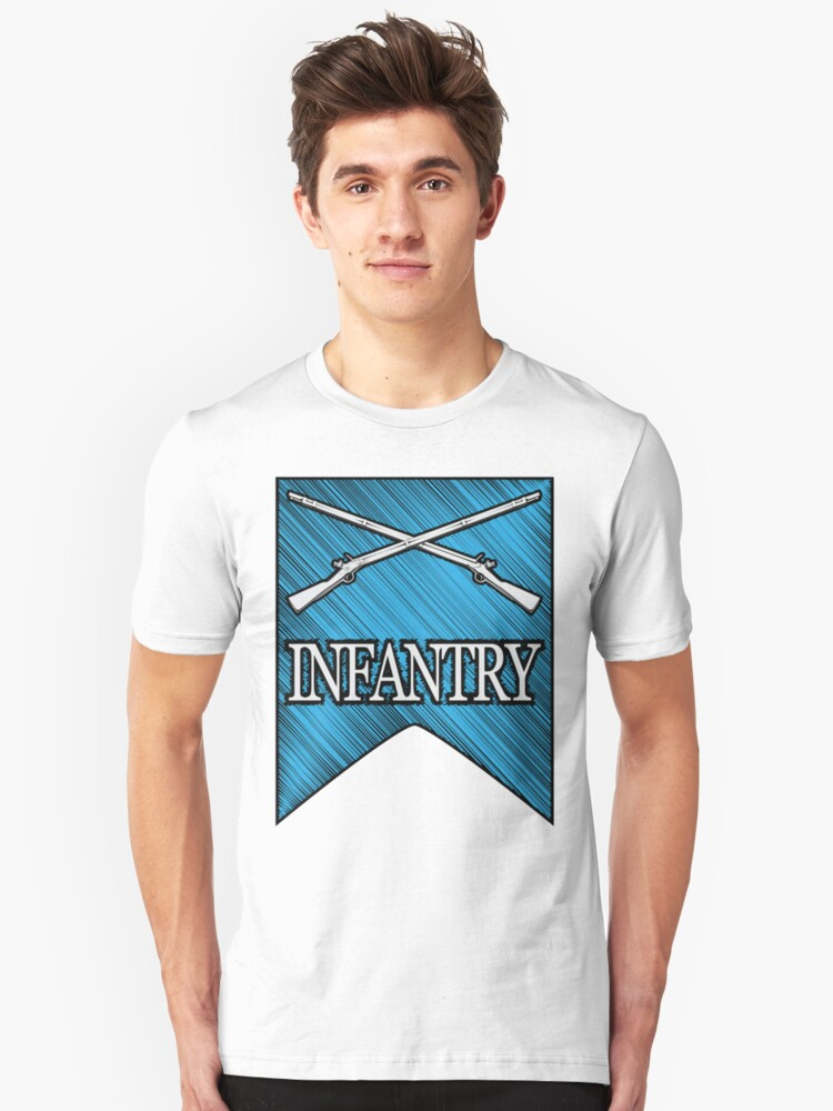 Crossed Infantry Muskets Unisex T-Shirt Front