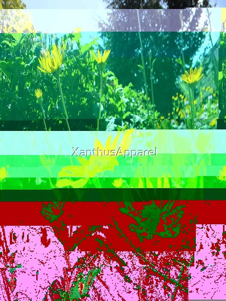 Flower Glith by XanthusApparel