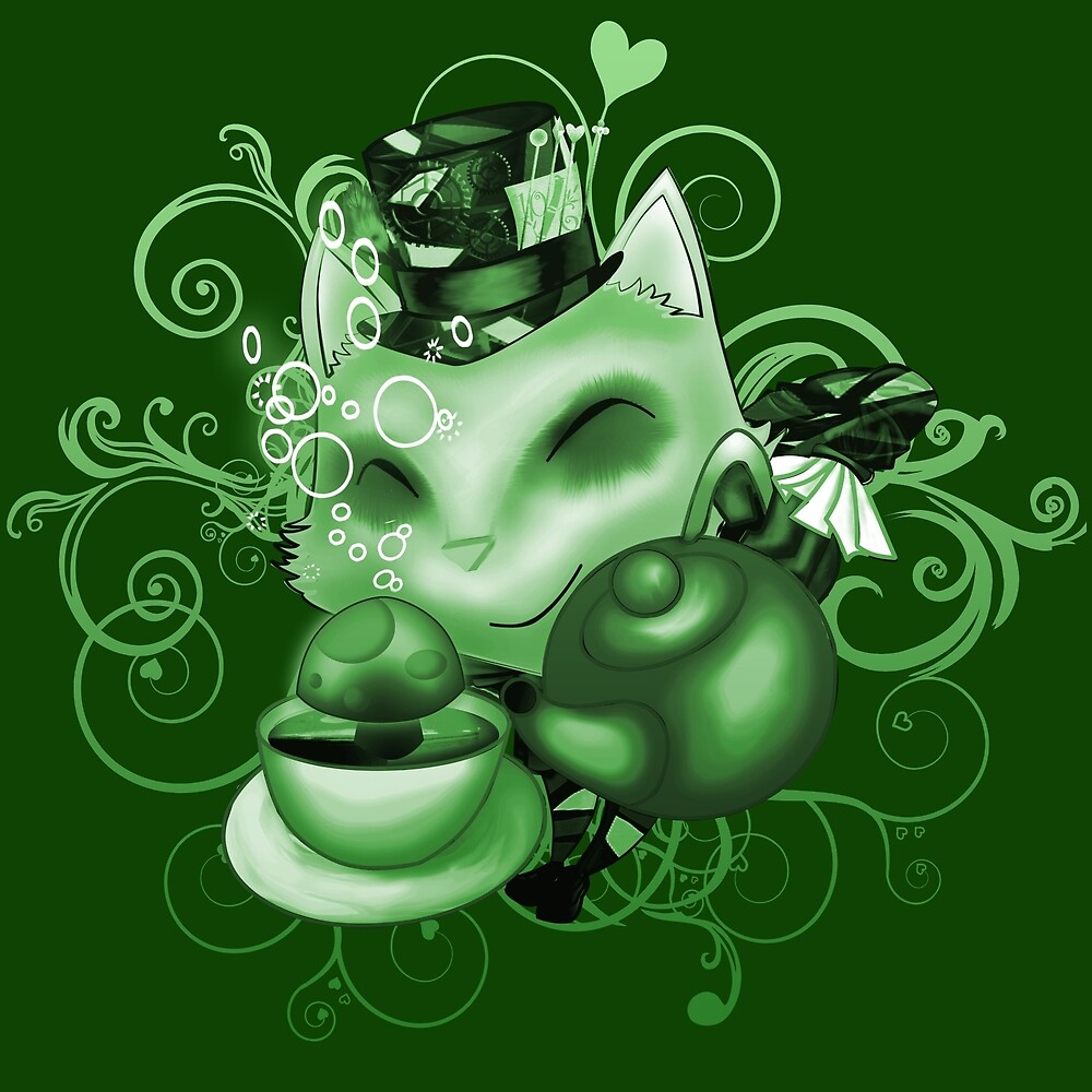 Teemo in Wonderland (green desaturate) by drtails