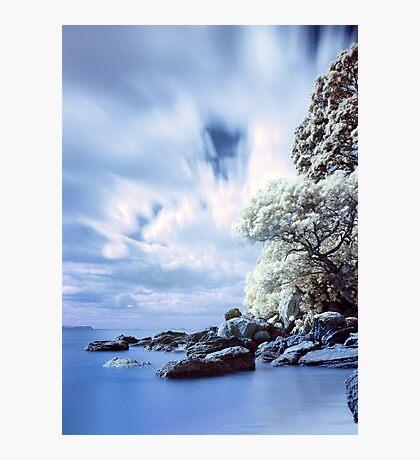 Onemana Beach infrared Photographic Print