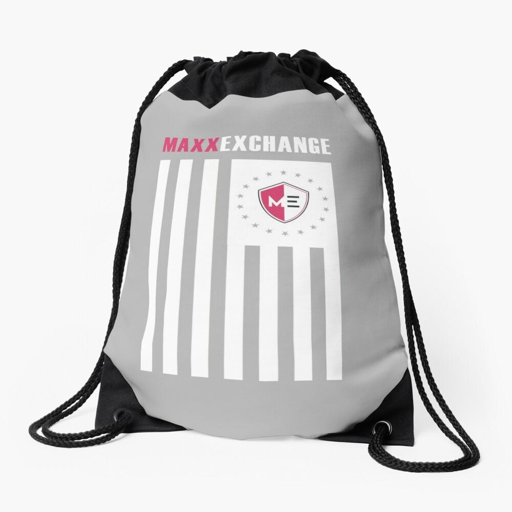 Maxx Exchange, Flag of Honor, American Pride. Drawstring Bag