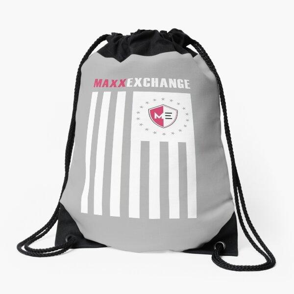 Maxx Exchange Ensign Stars Emblem Logo Insignia. Drawstring Bag