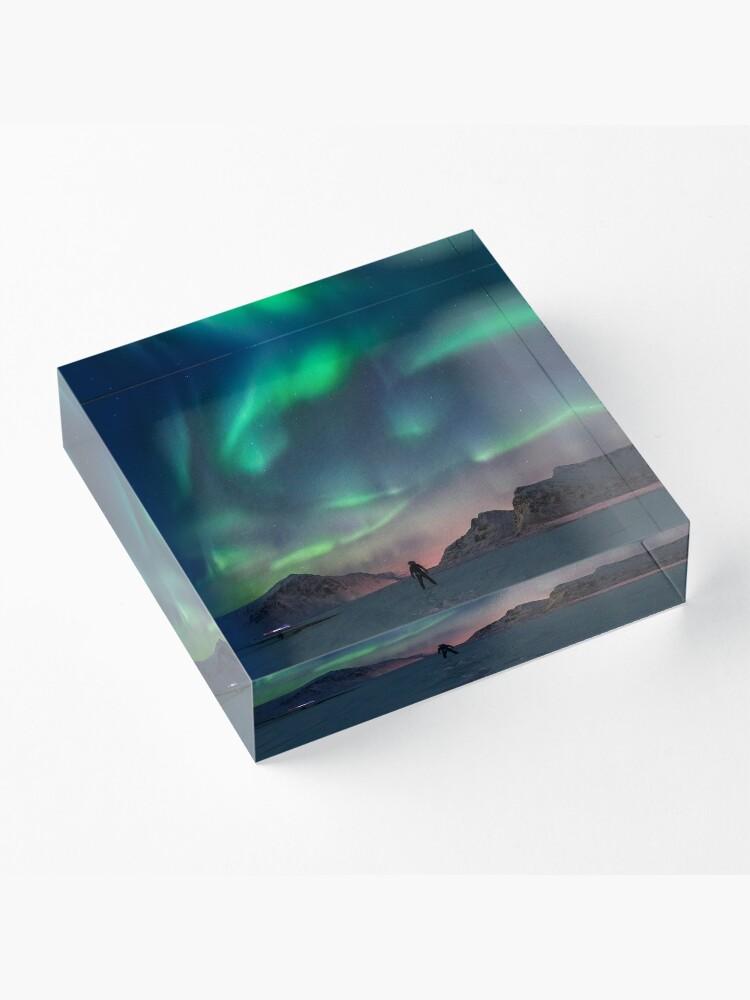Bloc acrylique ''Northern Light': autre vue