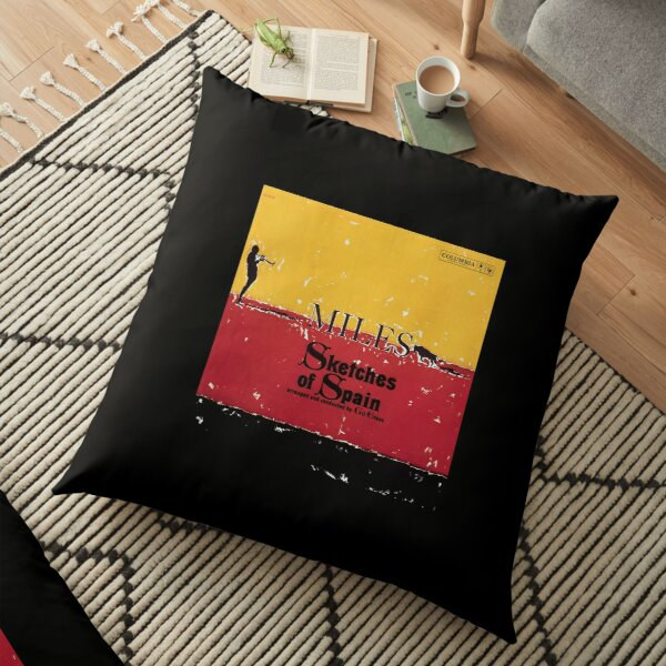 Sketches of Spain Floor Pillow