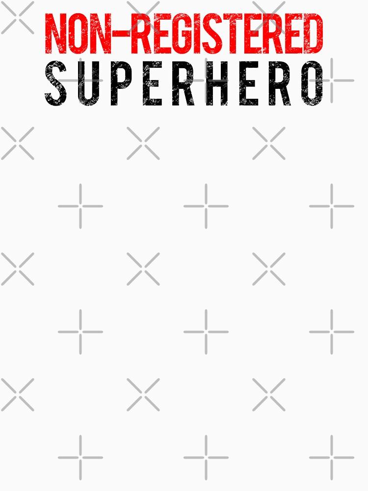 Civil War - Non-Registered Superhero - Black Dirty by garudoh