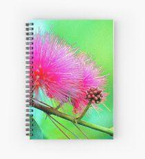 Bottle Brush Spiral Notebook