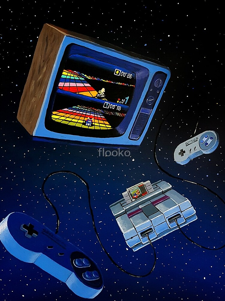 International Snes Station by flooko