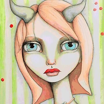 Peachy Faun by LittleMissTyne