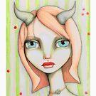 Peachy Faun by LittleMissTyne