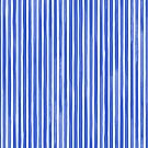 Aquarellstreifen M + M Kobalt von Friztin von friztin