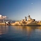 HMAS Ballarat by Lisa Kenny