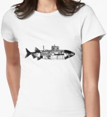 Submarine Women's Fitted T-Shirt
