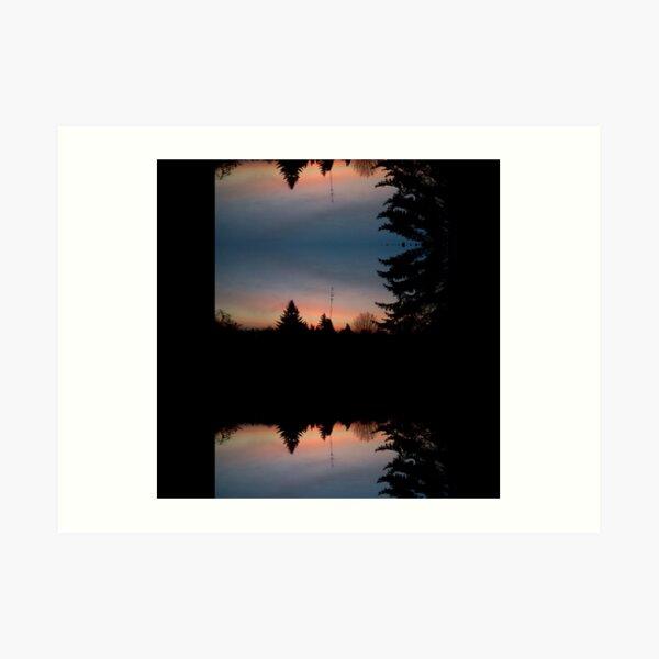 Sunrise Reflection Heller Art Print