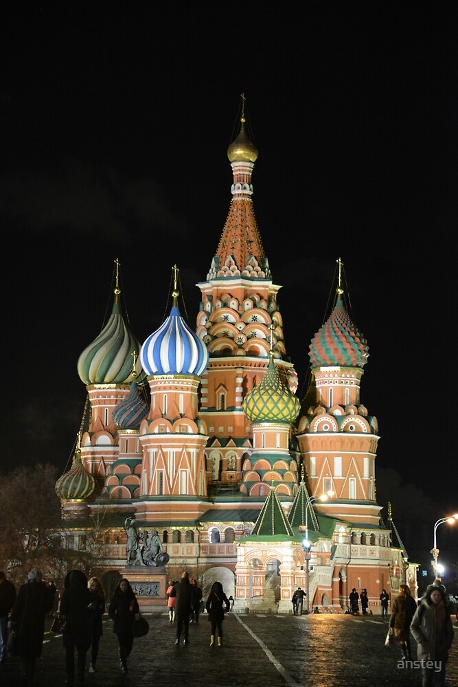 Saint Basil's Cathedral by anstey