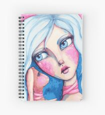 Bunny Whispers Spiral Notebook