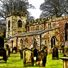 St Peters Church - Croft-on-Tees . by Trevor Kersley