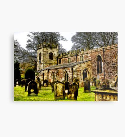 St Peters Church - Croft-on-Tees . Metal Print