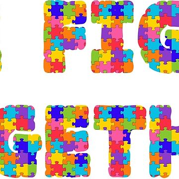 We Fight Together - Autism Awareness by peaktee