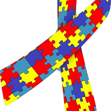 Autism Awareness Ribbon by peaktee