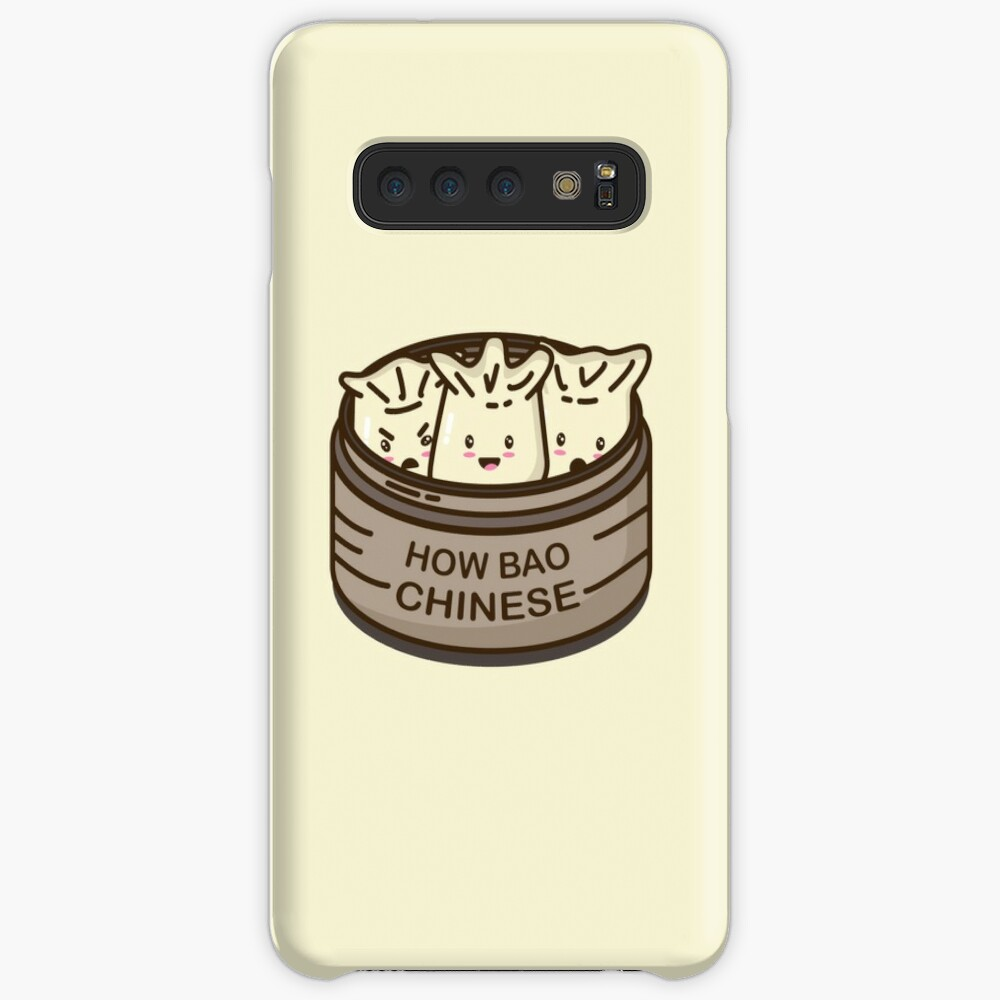 How Bao Chinese? Case & Skin for Samsung Galaxy