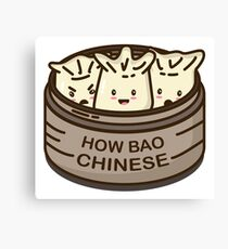 How Bao Chinese? Canvas Print