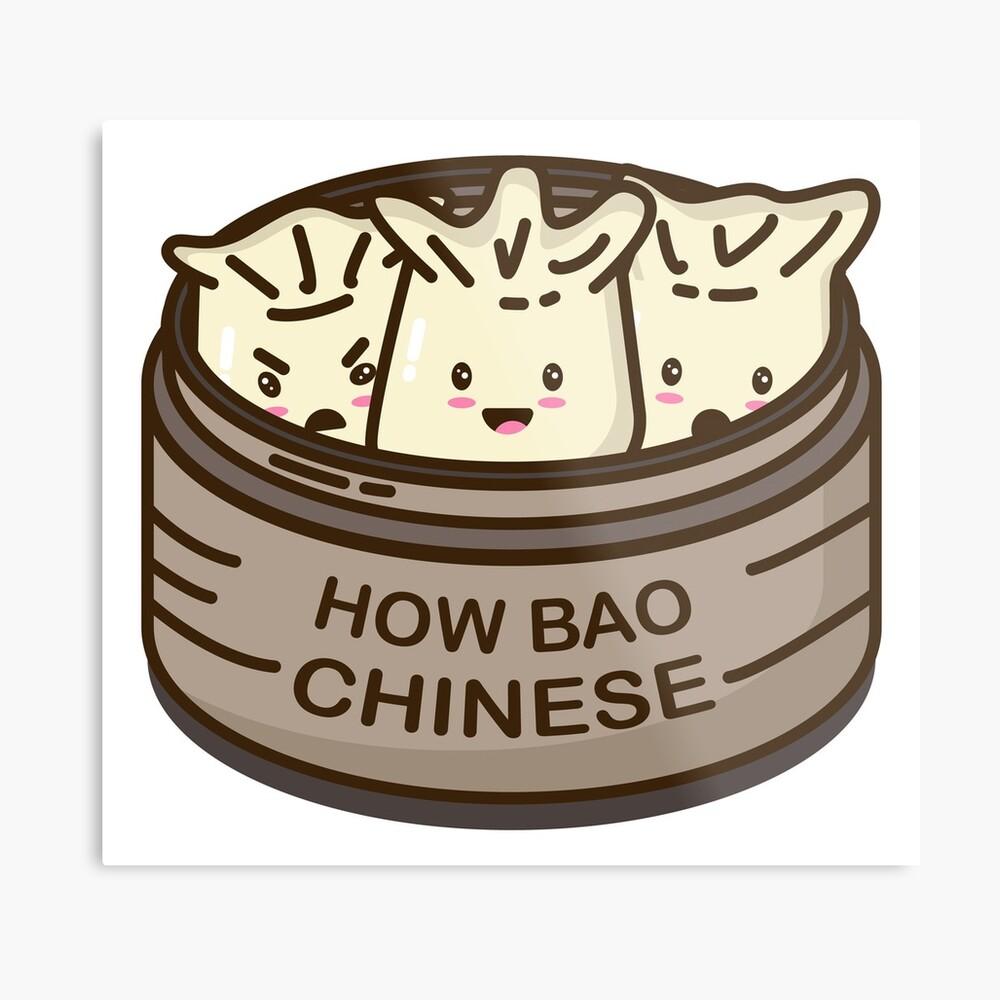 How Bao Chinese? Metal Print