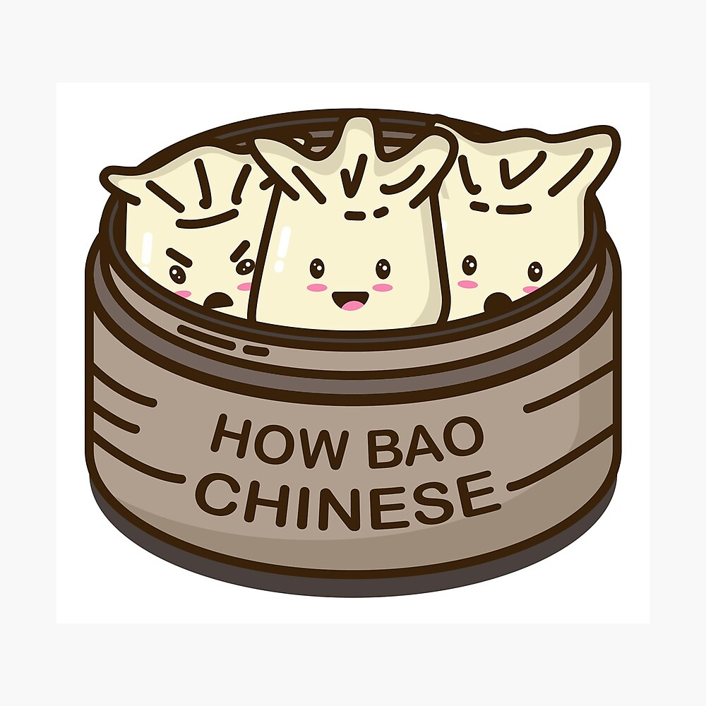 How Bao Chinese? Photographic Print