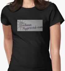 Sundanceapproved.com Logo Womens Fitted T-Shirt
