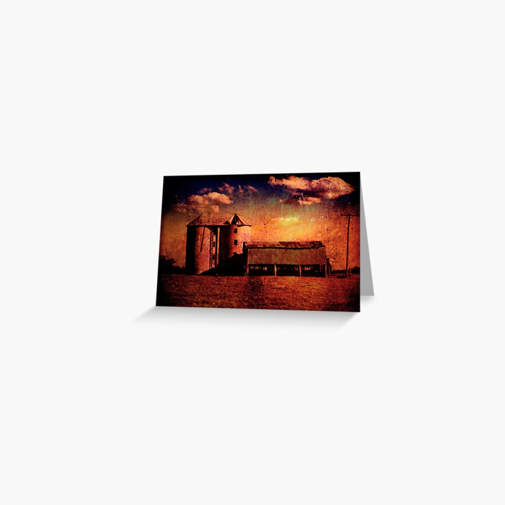 Shoalhaven Silos Greeting Card