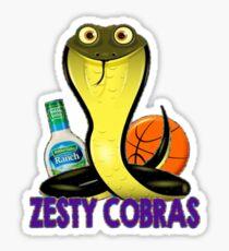Zesty Cobras Sticker