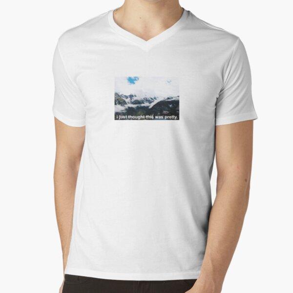 """""""Pretty"""" Swiss Alps V-Neck T-Shirt"""