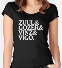 Zuul&Gozer&Vinz&Vigo Women's Fitted Scoop T-Shirt