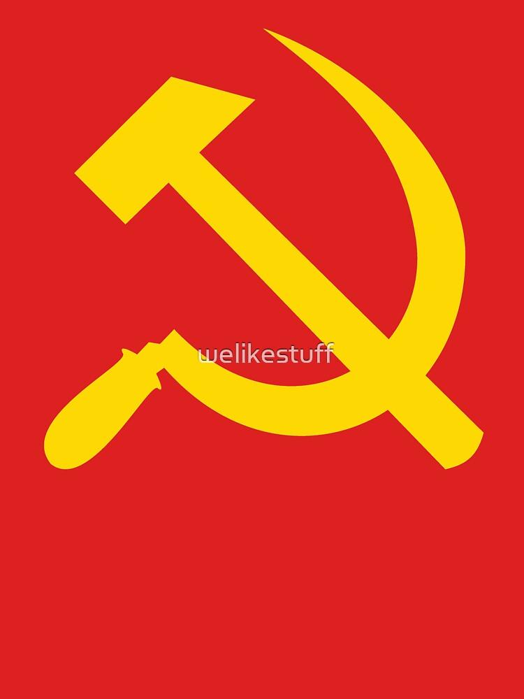 Communism - Soviet Union - Hammer Sickle Star | Unisex T-Shirt