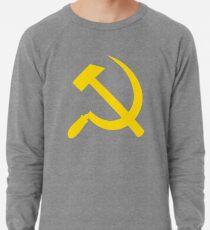 Kommunismus - Sowjetunion - Hammer-Sichel-Stern Leichter Pullover