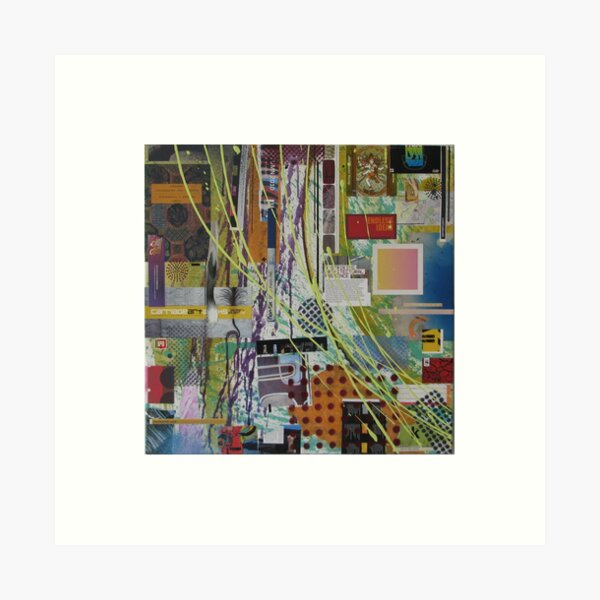 Urban Square No9 Art Print