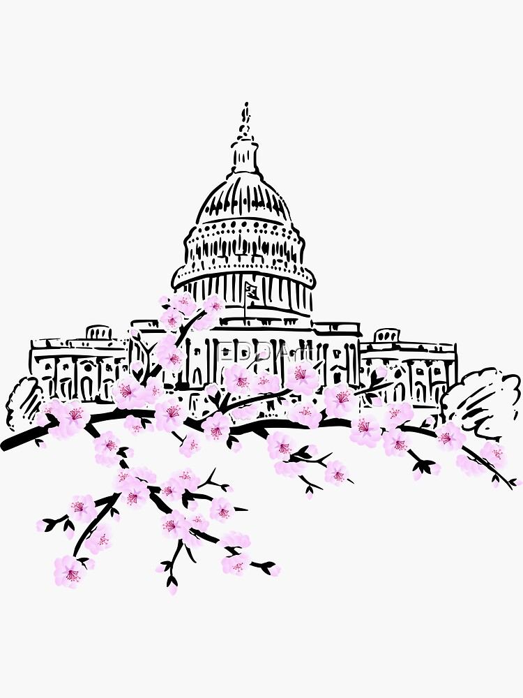 Festival de la flor de cerezo - Washington DC 1 de EDDArt