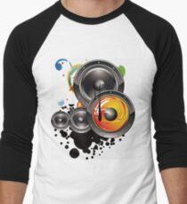 Altavoz música  Baseball ¾ Sleeve T-Shirt