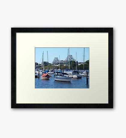 Brisbane City Story Bridge Framed Print