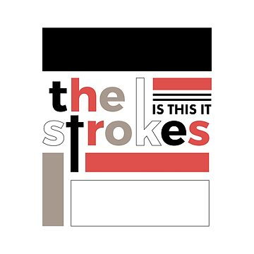 The Strokes - Is This It European Version by strangecity