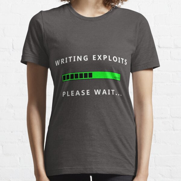 Writing Exploits, Cyber Security Hacking Fun T-shirt Essential T-Shirt