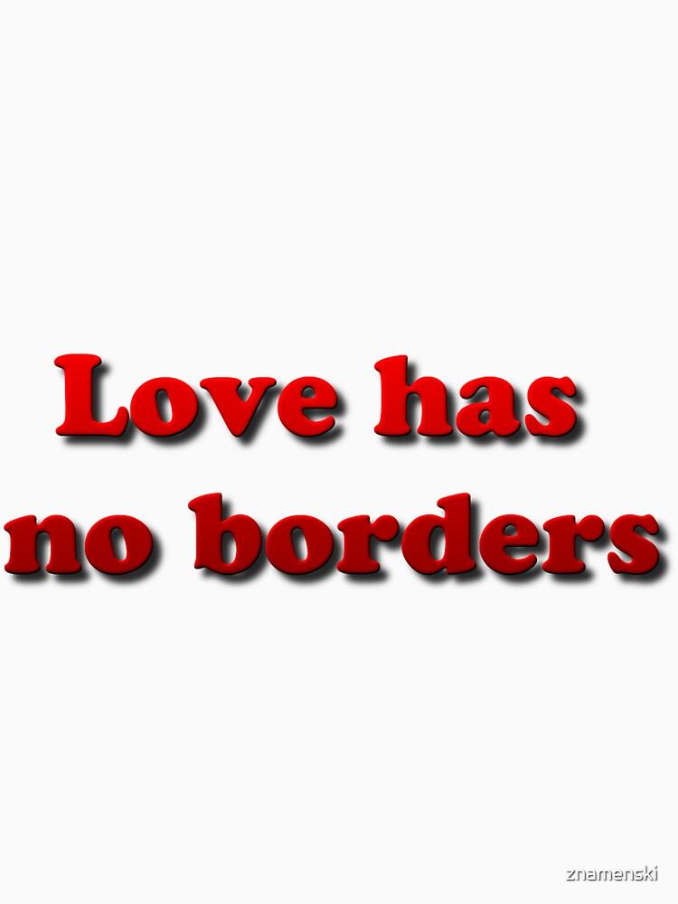 Love has no borders by znamenski