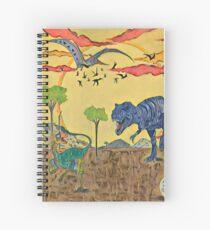 Cuaderno de espiral Prehistórico