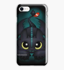 Pounce (Glow) iPhone Case/Skin