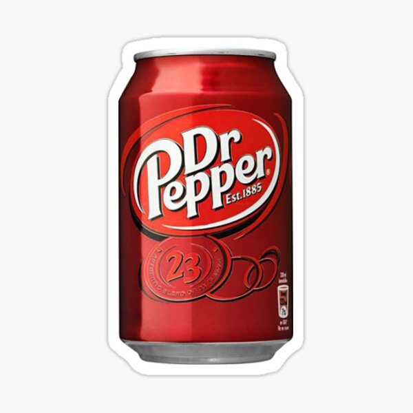 Dr pepper design parody Sticker