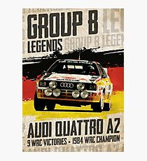 Group B Legends - Audi Quattro A2 Photographic Print