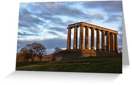 Calton Hill by Lynne Morris