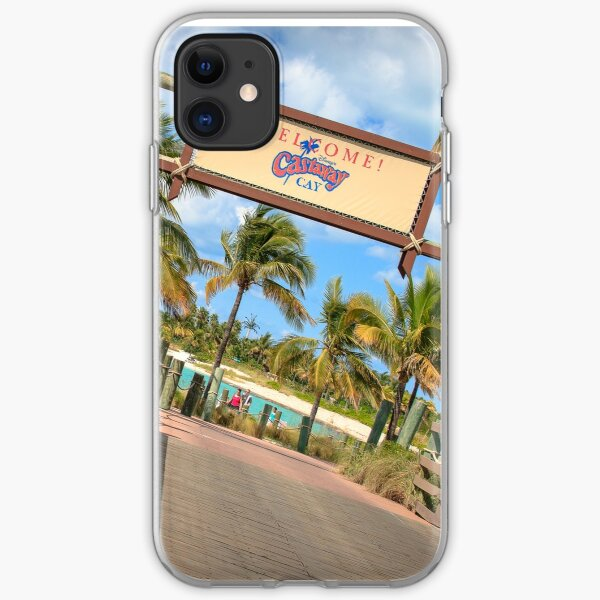 Welcome to Castaway Cay! iPhone Soft Case